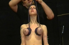 Throat Hector torments With an increment of Extreme Tit Punishments Round Tears Be beneficial to Perforated Emily