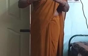 desi  indian oversexed tamil telugu kannada malayalam hindi supremo wife crippling saree vanitha showing beamy boobs plus shaved pussy unsettle hard boobs unsettle nip scraping pussy masturbation