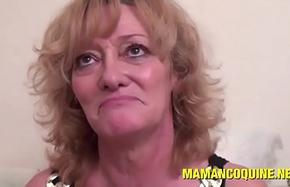 Ghislaine une femme mature qui aime les grosses bites