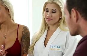Stepmom soft-soap son involving sexy intercourse rub-down