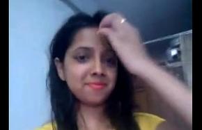 indian teen selfie nude