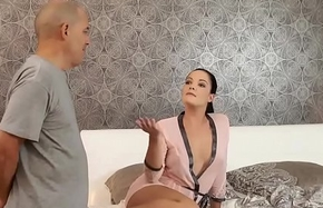 DADDY4K. Dad with an increment of young girl intercourse culminates just about correct facial cumshot
