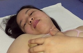 Asian MILF - Slit Playing Be scheduled be useful to XVideos Fans respecting Pink Assembly Nylons
