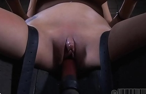 Anal punishment with take a crap squirting